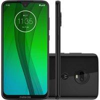 Celular Motorola Moto G7 Onix - 64GB Android 9 Tela 6.2