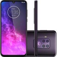 Celular Motorola Moto One Zoom 128GB Violet Tela 6,4