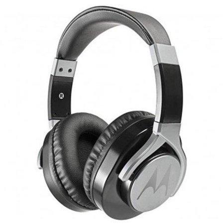Fone de Ouvido Motorola Pulse Max Preto - Headphone Cabo Destacável e Microfone
