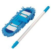 Mop Tira Pó  Microfibra Flexível 40 Cm  Limpeza a Seco