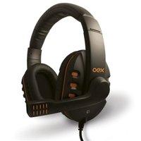 Fone de ouvido HeadSet Action HS200 - OEX - Microfone - Controle de volume - Alta definição