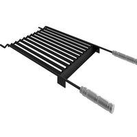 Grelha Argentina Parrilla Steel Flon 40x50 Com Coletor de Gordura Hausshop