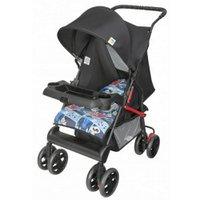 Carrinho de Bebê Novo Tithus Tutti Baby Azul