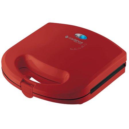 Sanduicheira Minigrill Easy Meal Vermelha SAN231 Cadence Antiaderente