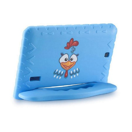 Tablet Infantil Galinha Pintadinha Plus Multilaser Azul 8Gb Android Wifi NB282