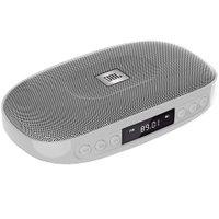 Caixa de som portátil JBL Tune Rádio FM USB SD Bluetooth Bateria 5h Prata