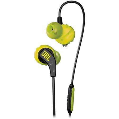 Fone de ouvido Esportivo JBL Endurance Run à prova de suor Preto/Amarelo