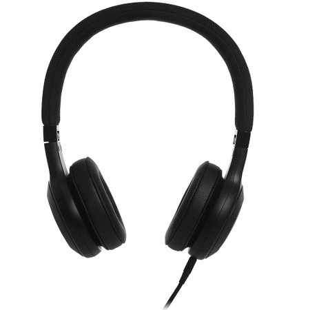 Fone de ouvido On-Ear JBL E35 com cabo de tecido e microfone Preto