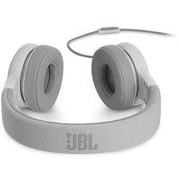 Fone de ouvido On-Ear JBL E35 com cabo de tecido e microfone Branco
