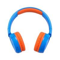 Fone de ouvido On-Ear JBL Kids JR 300 BT infantil sem fio Bluetooth Azul