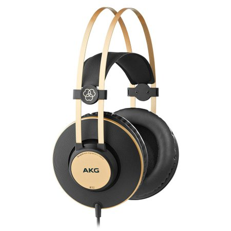 Fone de ouvido AKG K92 - Headphone Monitor Profissional Preto