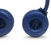 Fone de ouvido On-Ear sem fio Bluetooth JBL TUNE 500BT Pure Bass 16h Bateria Azul