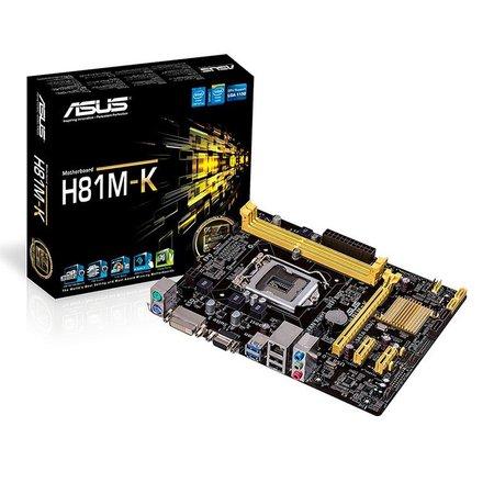 Placa Mae Asus H81M-K DDR3 Socket LGA1150 Chipset Intel H81