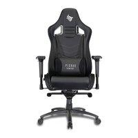 Cadeira Pichau Gaming BUKHARA Preta/Branca, OT-R90-BLACK/WHITE