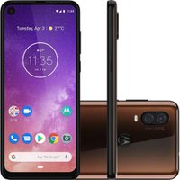 Celular Motorola Moto One Vision Bronze 128GB Tela 6.3