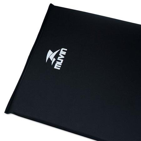 Colchonete de Espuma D80 95cm x 55cm x 3cm Muvin CNF-400 - Preto