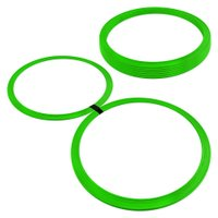 Argola de Agilidade - Kit com 8 - Verde - Muvin