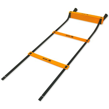 Escada de Agilidade Muvin EAG-100 - Preto/Laranja