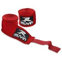Bandagem Elástica 3m Muvin BDG-300 - Vermelho