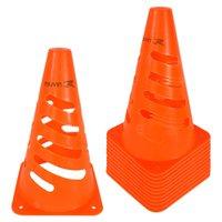 Cone de Marcação Flexível Elite - 24cm - Kit com 12 - Laranja - Muvin
