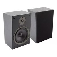 Par de caixas acústicas Bookshelf Preto - Boz Technology BT-65BS