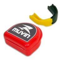 Protetor Bucal Dual Color Muvin PTB-200 - Verde/Amarelo