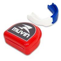 Protetor Bucal Dual Color Muvin PTB-200 - Branco/Azul