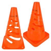 Cone de Marcação Flexível Elite - 24cm - Kit com 6 - Laranja - Muvin