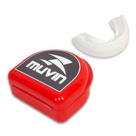 Protetor Bucal Profissional Muvin PTB-100 - Branco