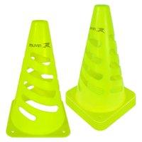 Cone de Marcação Flexível Elite - 24cm - Kit com 6 - Amarelo - Muvin