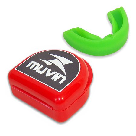 Protetor Bucal Profissional Muvin PTB-100 - Verde