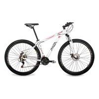 Bicicleta Mazza Bikes Ninne - Aro 29 Disco - Shimano 21 Marchas - 17 - Branco