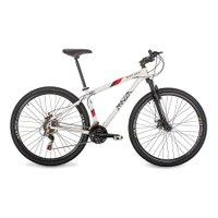 Bicicleta Mazza Bikes New Times - Aro 29 Disco - Shimano 21 Marchas - 21 - Branco