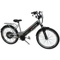 Bicicleta Elétrica Confort 800W 48V 15Ah - Prata