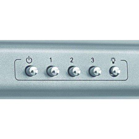 Depurador de Ar Slim 60 cm Prata Suggar