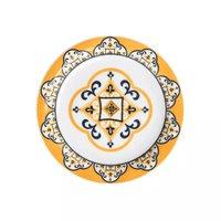 Conjunto de Pratos de Sobremesas Com 6 Peças 20cm Floreal São Luis - Oxford