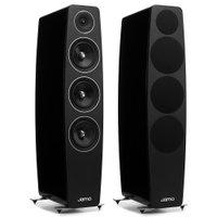 Jamo Concert C109 - Par de caixas acústicas Torre Preto Laqueado