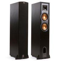 Klipsch Reference R-26F - Par de caixas acústicas Torre Dual Woofer 6