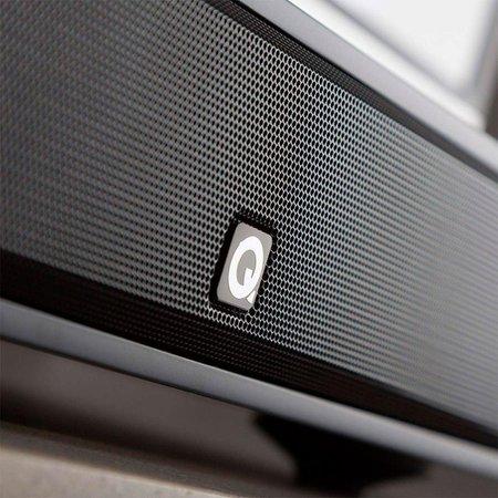 Soundbar Q Acoustics M2 Soundbase 80w apt-X Bluetooth NFC HDMI USB Preto