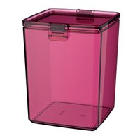 Pote Guarda Fácil Hermético 1,5L Biscoitos Bolachas - Colors - Rosa