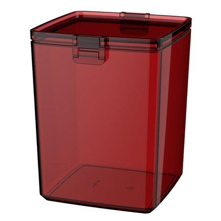 Pote Guarda Fácil Hermético 1,5L Biscoitos Bolachas - Colors  - Vermelho