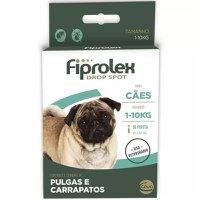 Antipulgas Carrapatos Fiprolex 0,67ml Cães Até 10kg 1 Pipeta