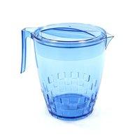 Jarra Para Suco ou Água Modelo Trama 3 Litros - Azul