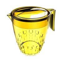 Jarra Para Suco ou Água Modelo Trama 3 Litros - Amarelo