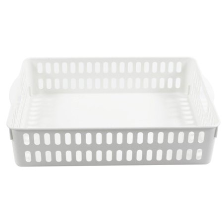 Cesto Organizador Multiuso / Grande Porta Objetos - Branco