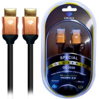 Diamond Cable GS-3020 3.6M - Cabo HDMI 2.0 High Speed com Ethernet 18Gbps 3D 4K ARC Unidade
