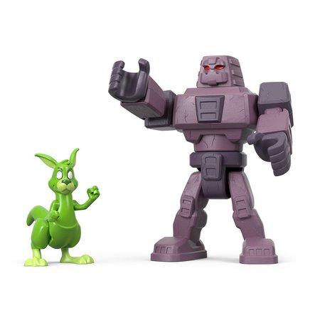 Fisher Price Imaginext Cinderblock e Mutano Canguru - Mattel