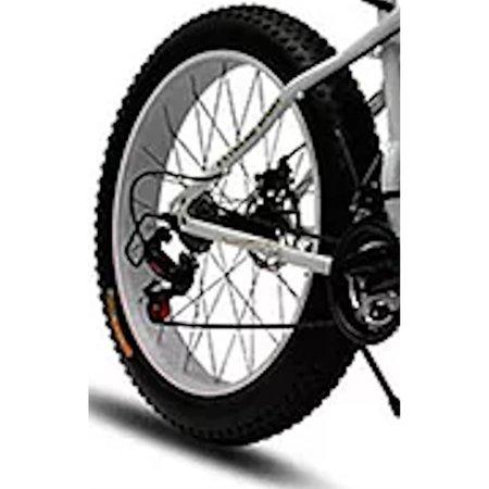 Bicicleta Doobe SBP2640 Aro 26 MTB 21V Freio a Disco - Branca