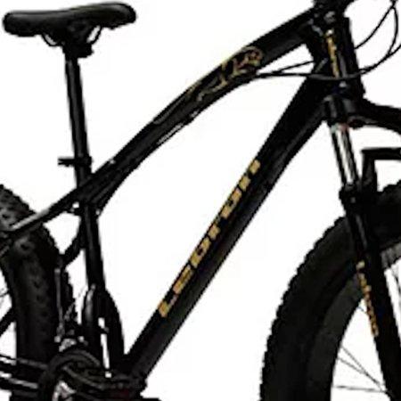 Bicicleta Doobe SBP2640 Aro 26 MTB 21V Freio a Disco - Preta