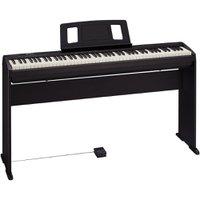 Kit Piano Digital 88 Teclas FP-10-BK + Estante KSCFP10-BK - Roland